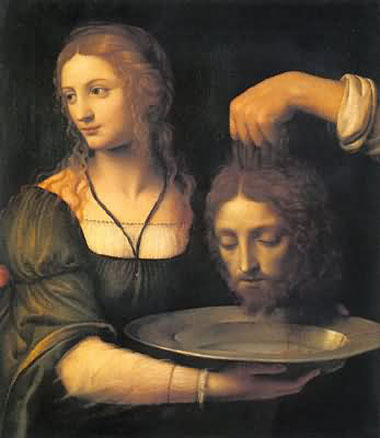 Salome and John the Baptist's head