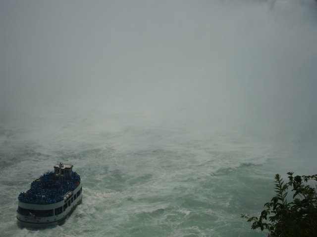 View from the top of the Niagra Falls